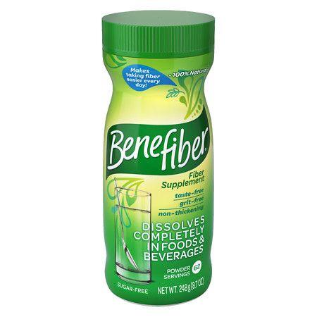 Benefiber Non-Thickening Powder, Sugar Free Unflavored, 62 dose - 9.0 oz