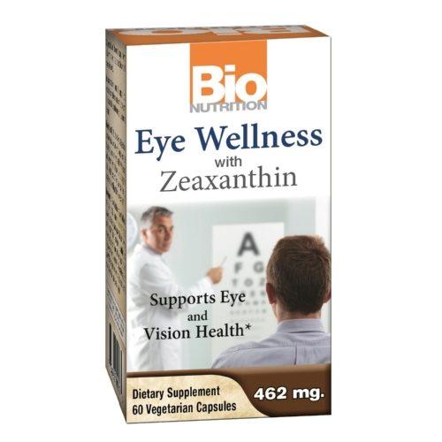 Bio Nutrition 1766328 Gluten Free Eye Wellness with Zeaxanthin, 60 Vegetarian Capsules