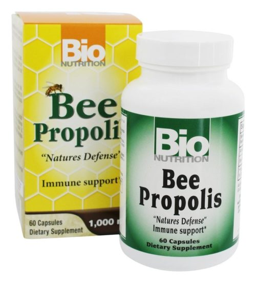 Bio Nutrition 515376 Bee Propolis - 60 Count