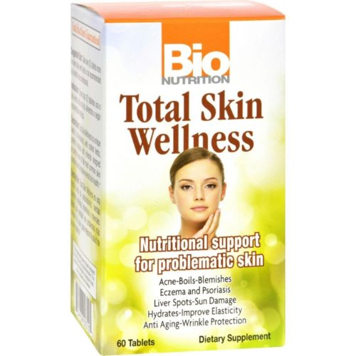 Bio Nutrition HG1086099 Total Skin Wellness - 60 Tablets