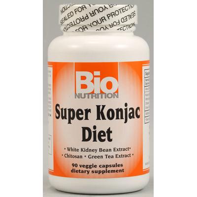 Bio Nutrition Inc 1029495 Super Konjac Diet - 90 Veggie Capsules
