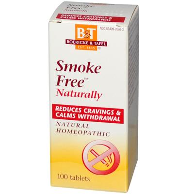 Boericke And Tafel Smoke Free Naturally - 100 Tablets