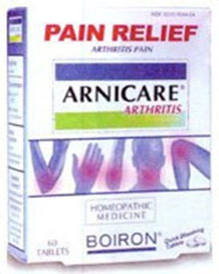Boiron Homeopathic Medicines Arnicare Arthritis 60 tablets Pain 222065
