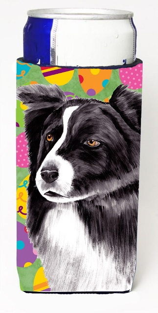Border Collie Easter Eggtravaganza Michelob Ultra s For Slim Cans - 12 oz.