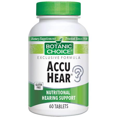 Botanic Choice Accu Hear Dietary Supplement Tablets - 60.0 Each