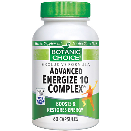 Botanic Choice Advanced 10 Complex Herbal Supplement Capsules - 60.0 Each