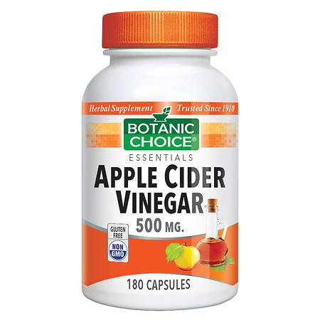 Botanic Choice Apple Cider Vinegar 500 mg Dietary Supplement Capsules - 180.0 ea