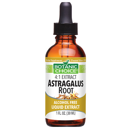 Botanic Choice Astragalus Root Herbal Supplement Liquid - 1.0 Ounce