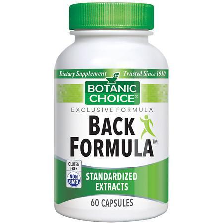 Botanic Choice Back Formula Dietary Supplement Capsules - 60.0 Each