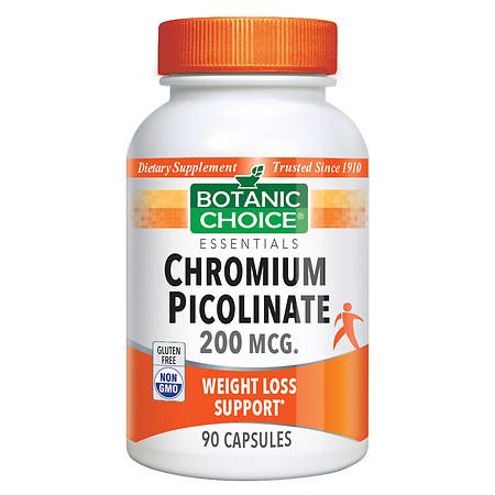 Botanic Choice Chromium Picolinate 200 mcg Dietary Supplement Capsules - 90.0 ea