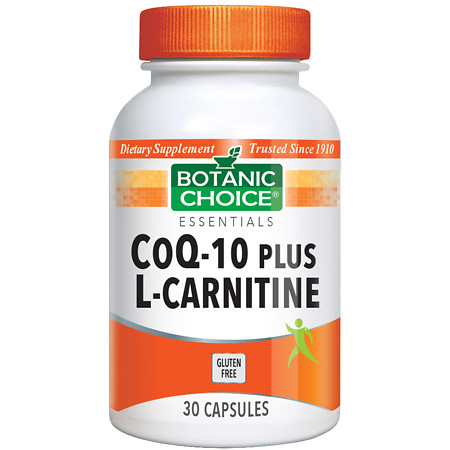Botanic Choice CoQ10 plus L-Carnitine Dietary Supplement Capsules - 30.0 Each