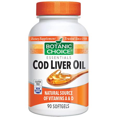 Botanic Choice Cod Liver Oil Dietary Supplement Softgels - 90.0 Each