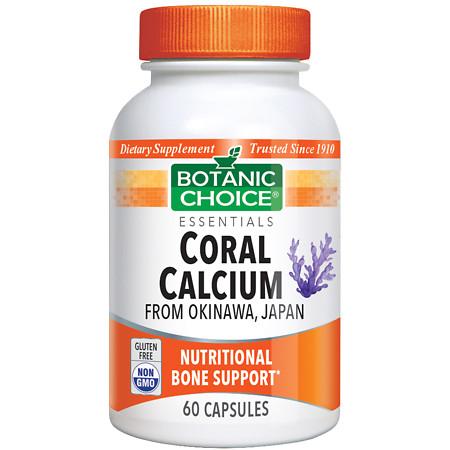 Botanic Choice Coral Calcium Dietary Supplement Capsules - 60.0 Each