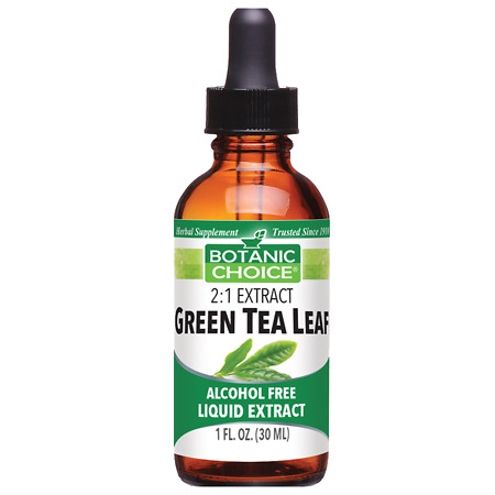 Botanic Choice Green Tea Leaf Herbal Supplement Liquid - 1.0 Ounce