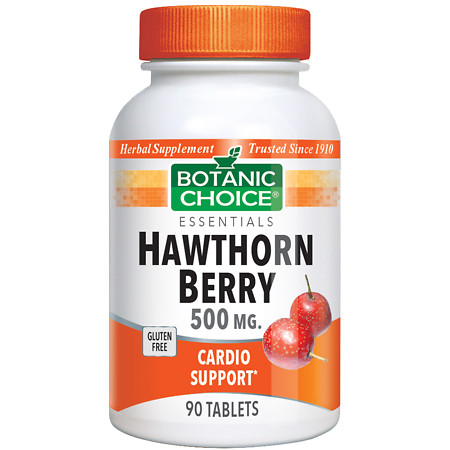Botanic Choice Hawthorn Berry 500 mg Herbal Supplement Tablets - 90.0 Each