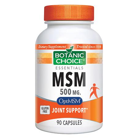 Botanic Choice MSM 500 mg Dietary Supplement Capsules - 90.0 Each