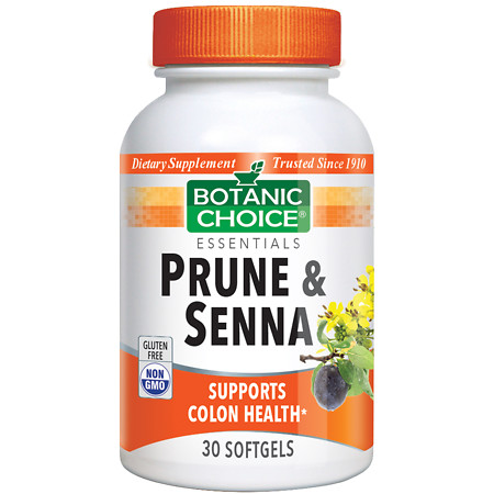 Botanic Choice Prune & Senna Dietary Supplement Softgels - 30.0 Each