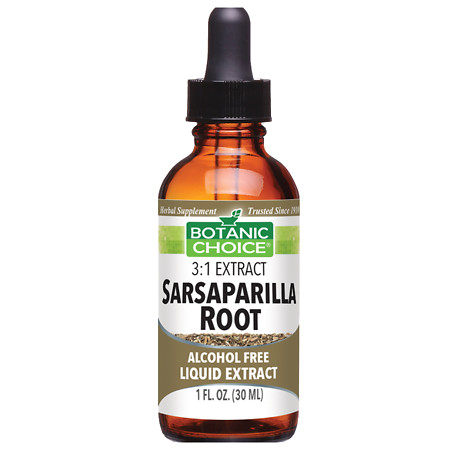 Botanic Choice Sarsaparilla Root Herbal Supplement Liquid - 1.0 Ounce