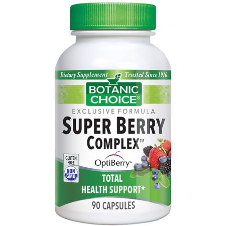 Botanic Choice Super Berry Complex Dietary Supplement Capsules - 90.0 Each