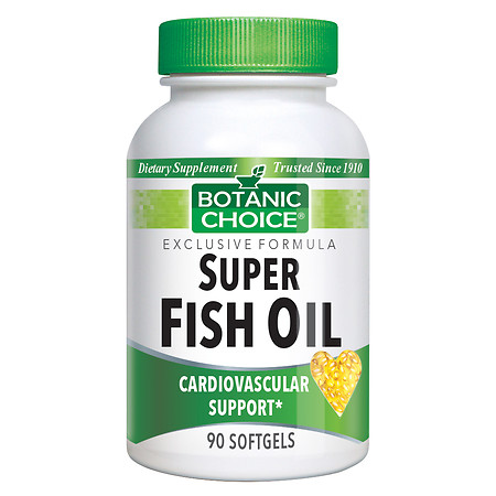 Botanic Choice Super Fish Oil Dietary Supplement Softgels - 90.0 ea