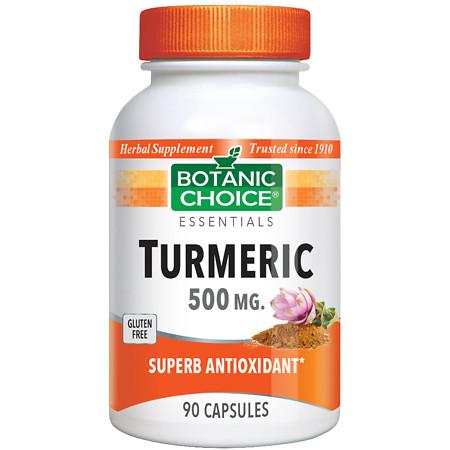 Botanic Choice Turmeric 500 mg Herbal Supplement Capsules - 90.0 Each