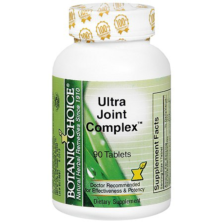 Botanic Choice Ultra Joint Complex Dietary Supplement Tablets - 90.0 ea.