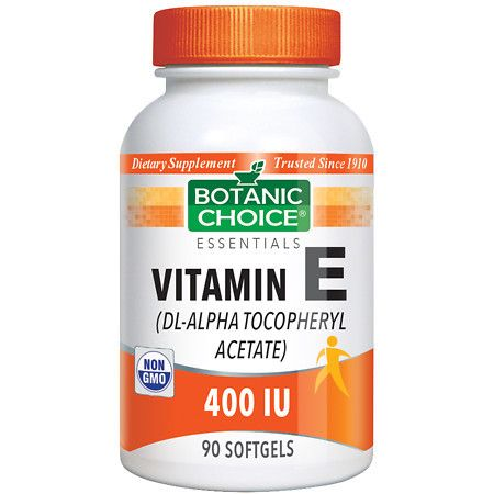 Botanic Choice Vitamin E 400 IU Dietary Supplement Softgels - 90.0 Each