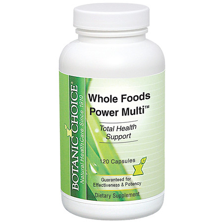 Botanic Choice Whole Foods Power Multi Dietary Supplement Capsules - 120.0 Each