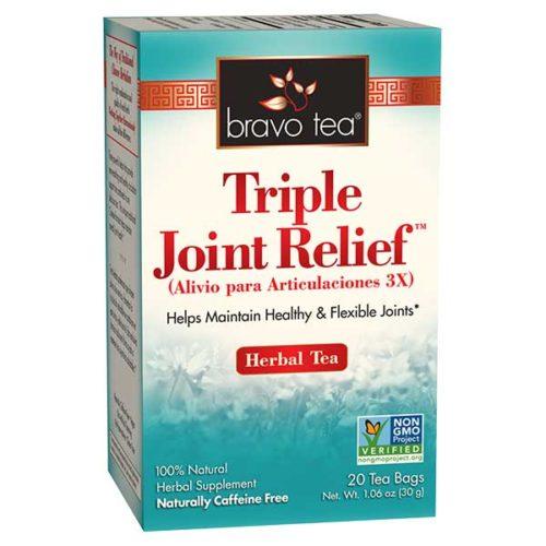 Bravo Tea 689512 Triple Joint Relief Tea - 20 Bag, 6 Per Case