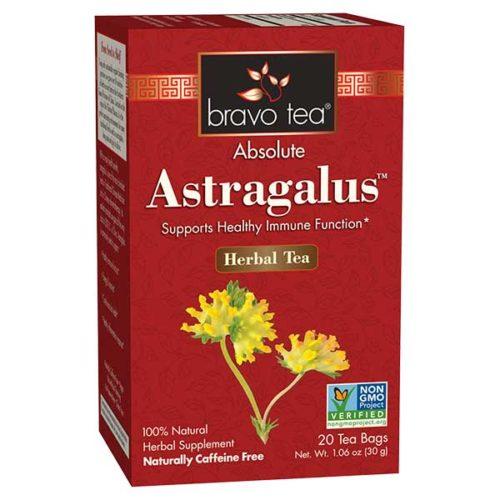 Bravo Tea 689522 Astragalus Tea - 20 Bag, 6 Per Case