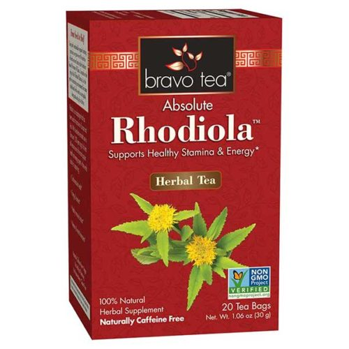 Bravo Tea 689534 Rhodiola Tea - 20 Bag, 6 Per Case