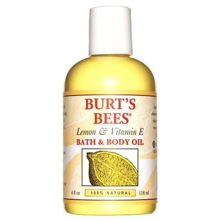 Burt's Bees Body & Bath Oil Lemon & Vitamin E - 4.0 fl oz
