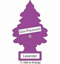 C15-U1P10435 Tree Lavender Little Air Freshener