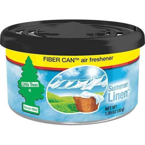 C15-UFC1787424 Little Trees Air Fresheners, Summer Linen Fiber