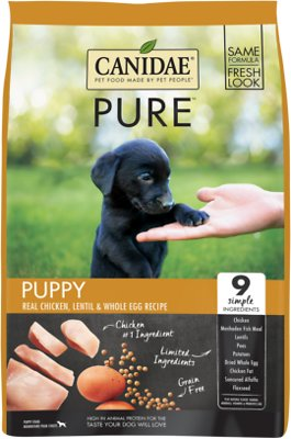 CD01900 3.5 lbs Pure Pup Chicken Lentil & Egg Dry Dog Food
