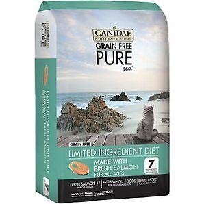 CD03311 Pure Grain Free Cat Food Fresh Salmon Food, 5 lbs
