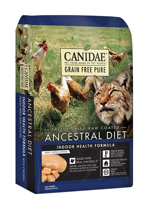 CD03757 2.5 lbs Canidae Ancestral Indoor Health Food for Cats
