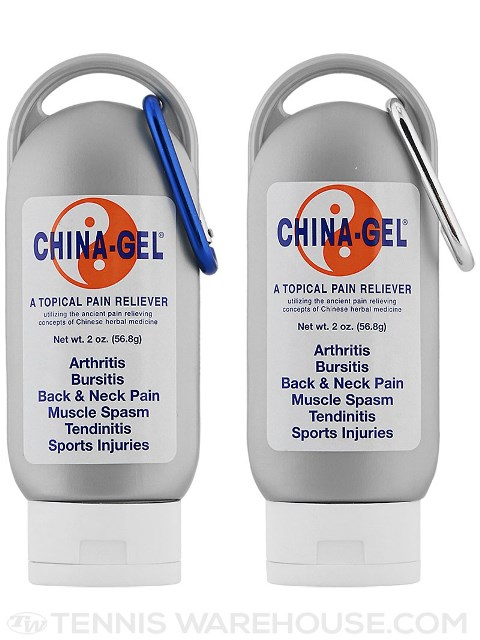 CHG10002 2 oz Travel Tube Topical Pain Reliever with Clip - 2 per Pack