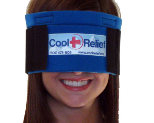 CRSE-1 Soft Gel Eye Ice Wrap by -1 Removeable Insert