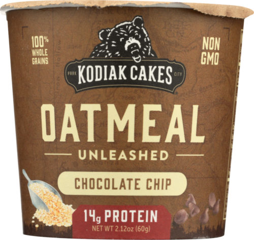Cakes KHLV00321305 Oatmeal Cup Unleashed Chocolate Chip, 2.12 oz
