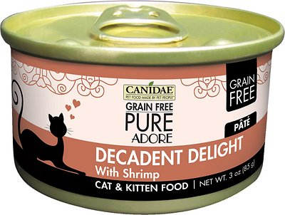 Canidae CD10130 Grain-Free Decadent Delight with Shrimp Canned Cat Food