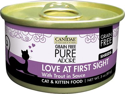 Canidae CD10132 Grain-Free Love at First Sight with Trout Canned Cat Food