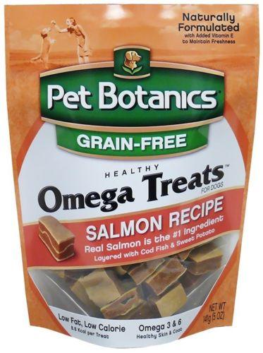 Cardpt 121146 5 oz Pet Botanics Omega Treats for Dogs Salmon