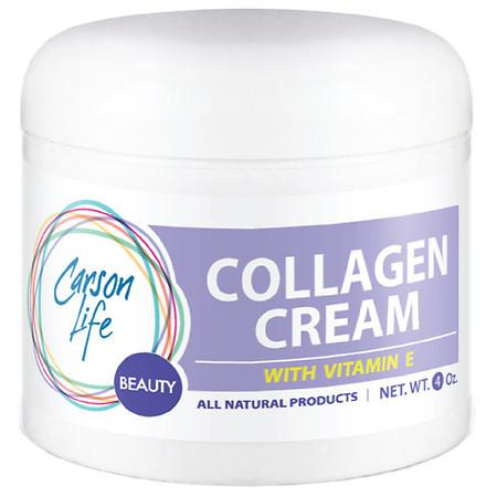 Carson Life Collagen Cream with Vitamin E Lavender - 4.0 oz