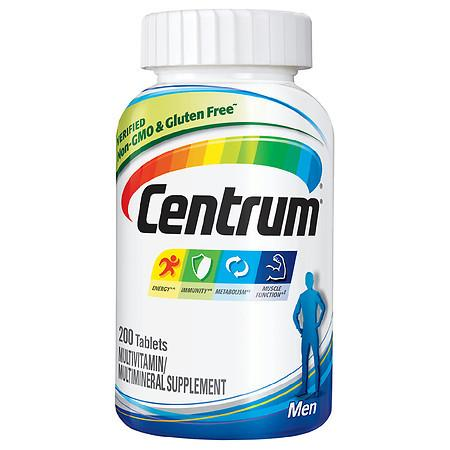 Centrum Men, Complete Multivitamin/Multimineral Supplement Tablet - 200.0 ea