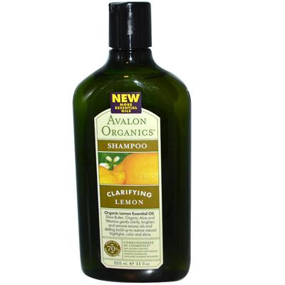Clarifying Shampoo Lemon With Shea Butter - 11 Fl Oz
