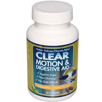 Clear Motion and Digestive Aid - 60 Capsules