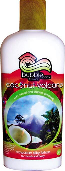 Coconut Volcano & Kukui Plus Shea Hawaiian Silky Lotion