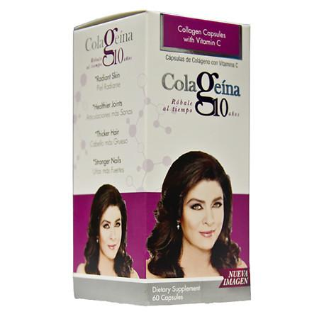 Colageina 10 Collagen Caps - 60.0 ea