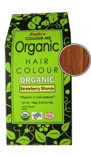 Colour Me Organic Hair Color - Strawberry Blonde